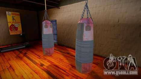 Punching bag for GTA San Andreas
