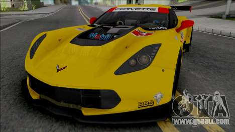 Chevrolet Corvette C7.R [Fixed] for GTA San Andreas
