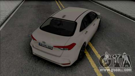 Toyota Corolla 2020 Hybrid for GTA San Andreas