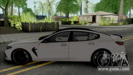 BMW M8 Gran Coupe Manhart for GTA San Andreas