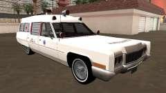 Cadillac Fleetwood Wagon 1970 Ambulance
