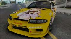 Nissan Skyline GT-R R33 (SA Lights) for GTA San Andreas