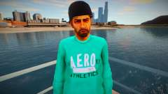 The guy in the green jacket for GTA San Andreas
