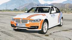 BMW 335i sedan Sport Line (F30) 2013〡Wegpolitie [ELS] for GTA 5