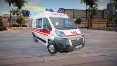 Peugeot Boxer Ambulance Ukraine for GTA San Andreas
