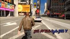 GTA IV Walk Style GTA V for GTA 4