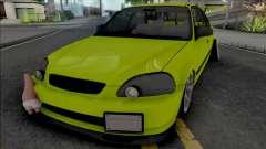 Honda Civic 1.6 iES Yellow
