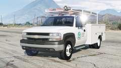 Chevrolet Silverado 1999〡Utility Truck for GTA 5