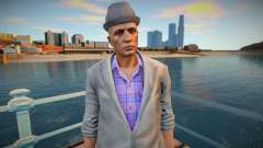 Dude in a gray jacket from GTA Online for GTA San Andreas