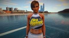 Lisa sports skirt for GTA San Andreas