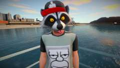 Faggot mask raccoon from GTA Online for GTA San Andreas