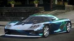 Koenigsegg CCX GST-R S2 for GTA 4