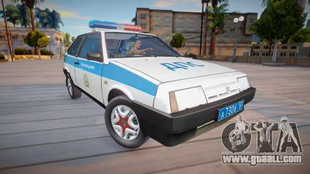 Vaz 2108 KK Police (DPS) for GTA San Andreas