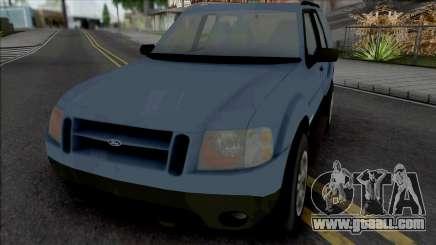 Ford Explorer Sport 2002 for GTA San Andreas