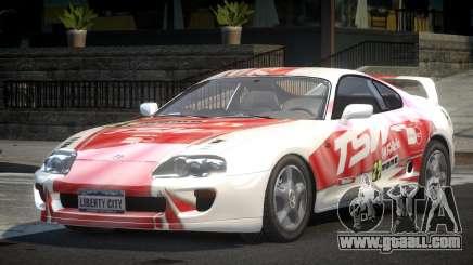 Toyota Supra GST Drift S3 for GTA 4