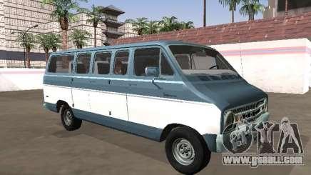 Dodge Sportsman B200 1972 Bus for GTA San Andreas