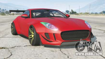 Jaguar F-Type R coupe 2015〡Wide Body Kit for GTA 5