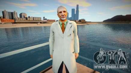 scientist for GTA San Andreas