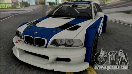 BMW M3 GTR [HQ] for GTA San Andreas