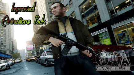 Improved Animations Pack for GTA 4