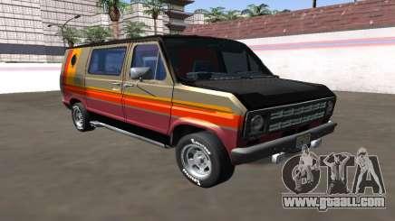 1976 Ford Econoline Cruising Van for GTA San Andreas