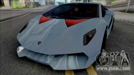 Lamborghini Sesto Elemento (SA Lights) for GTA San Andreas