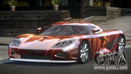 Koenigsegg CCX GST-R S5 for GTA 4