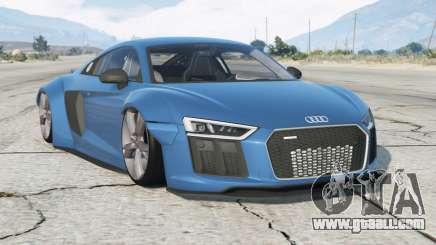 Audi R8 V10 Plus 2017〡Wide Body Kit〡add-on for GTA 5