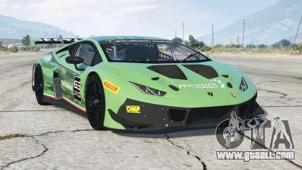 Lamborghini Huracan GT3 EVO 2018〡add-on for GTA 5