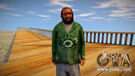 Homeless man from GTA 5 v9 for GTA San Andreas