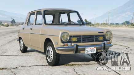 Simca 1204 1976〡add-on for GTA 5