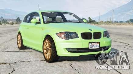 BMW 120i (E81) 2007〡add-on for GTA 5