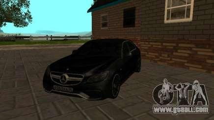 Mercedes-Benz E63 W212 AMG for GTA San Andreas