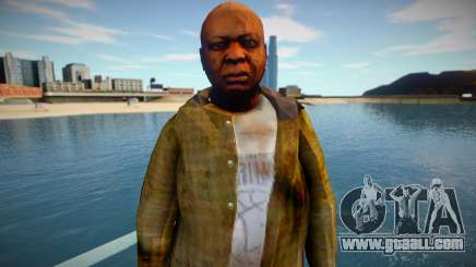 Homeless man from GTA 5 v3 for GTA San Andreas