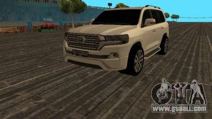 Toyota Land Cruiser 200 18 v2 for GTA San Andreas