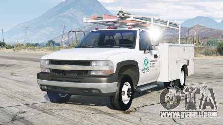Chevrolet Silverado 1999〡Utility Truck for GTA 5