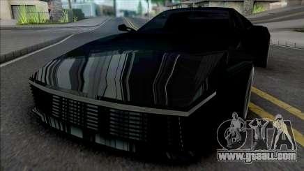 Cheetah Regem for GTA San Andreas