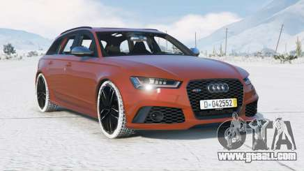 Audi RS 6 Avant (C7) 2015〡add-on for GTA 5