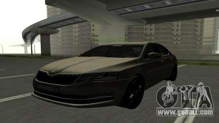 Skoda Octavia RUS Plates for GTA San Andreas