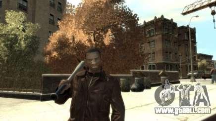 Black Skin for Niko for GTA 4