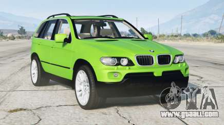 BMW X5 4.8is (E53) 2005〡add-on v1.1 for GTA 5