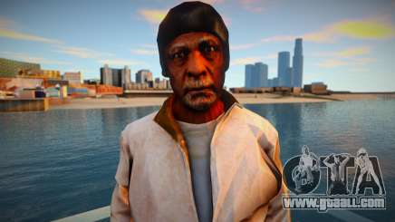 Homeless man from GTA 5 for GTA San Andreas