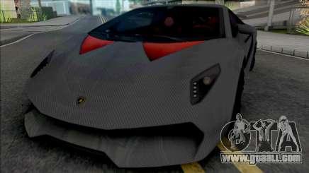 Lamborghini Sesto Elemento Carbon (SA Lights) for GTA San Andreas