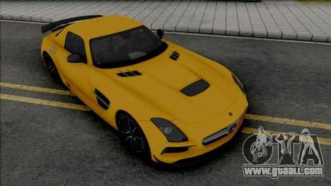 Mercedes-Benz SLS AMG Black Series (SA Lights) for GTA San Andreas
