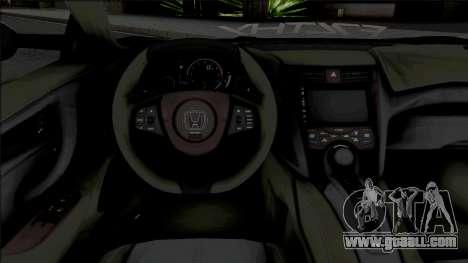 Honda NSX Liberty Walk [HQ] for GTA San Andreas