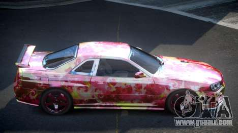 Nissan Skyline R34 PSI-U S2 for GTA 4