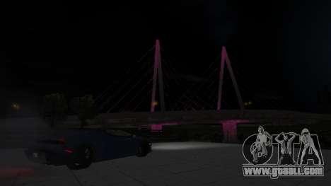 Rockshore bridge for GTA San Andreas