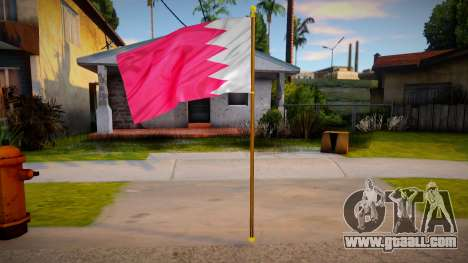 Kingdom Of Bahrain Flag for GTA San Andreas