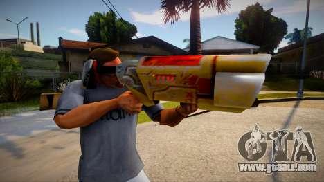 Quake 2 Railgun for GTA San Andreas