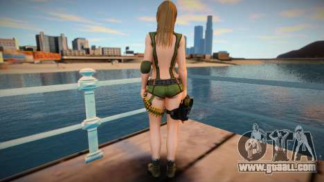 Misaki Army skin for GTA San Andreas